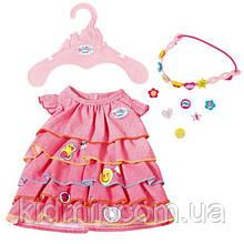 Одяг для ляльки Бебі Борн літнє плаття Baby Born Zapf Creation 824481