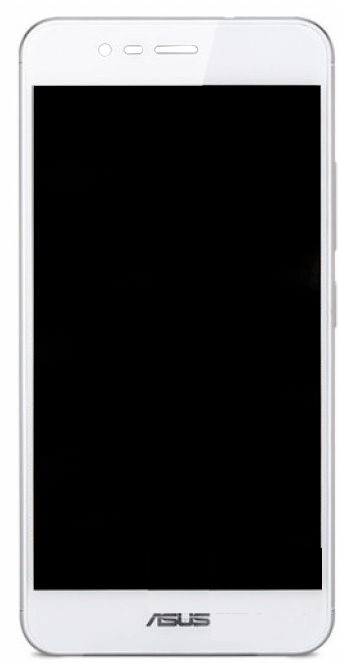 Дисплей (LCD) Asus ZenFone Pegasus 3 X008 Dual Sim с сенсором белый