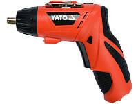 Отвертка аккумуляторная Yato YT-82760