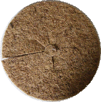 Мульчирующий пристволовой круг d22 см