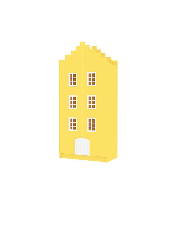 Home Little - Двухдверный Шкаф Amsterdam - Лесенка