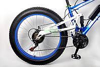Ультра байк электровеолосипед бренда MERCEDES на двухподвестной раме и большими колесами с мощностью 500 ВТ