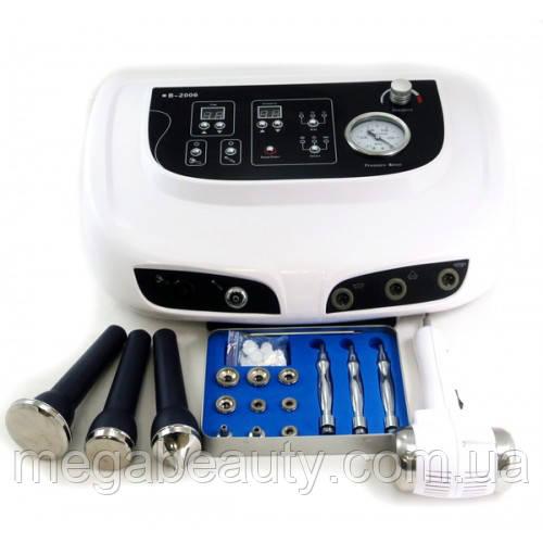 Косметологический аппарат 3 в 1: ультразвуковой фонофорез, микродермабразия, тепло / холод, мод8916019