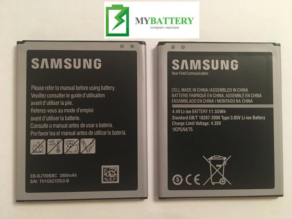 Оригинальный аккумулятор АКБ батарея Samsung Samsung J7 | J700 EB-BJ700CBE | EB-BJ700BBC 3.85V 3000mAh