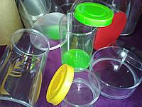 Тубус и коробка из РЕТ пластика для мыла