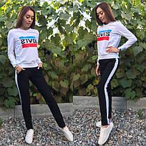 Модный  костюм LEVIS,свитшот и брюки размеры от 42 до 50, фото 2