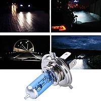 Галогенные лампы Xenon H4 12V 60/55W  автолампа Ксенон в пластиковом боксе