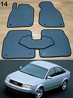 Коврики на Audi A6 (C5) '97-05. Автоковрики EVA, фото 1