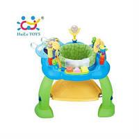 """Игровой развивающий центр Huile Toys """"Музыкальный стульчик"""", синий (696)"""