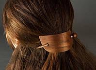 Заколка для волос со шпилькой из натурального дерева в восточном стиле