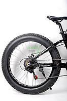 Складной фэтбайк LAND ROVER ELECTROBIKERD на толстых колесах мощный двигатель 1000 Вт