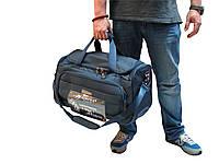 Крепкая дорожная сумка на колесах малого размера  Airtex 830/20, фото 1