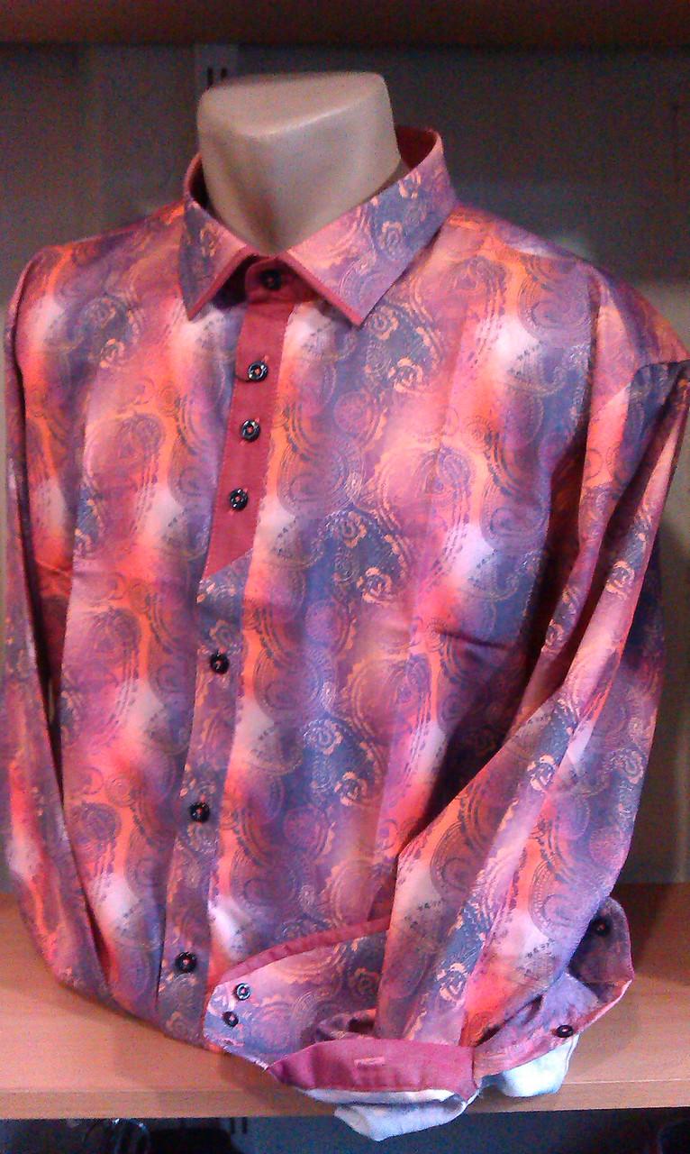 Мужская рубашка CARLO PUCCINI (Milan) сатин