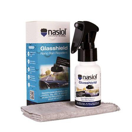 Антидождевое покрытие для стекол и зеркал Nasiol Glasshield, фото 2