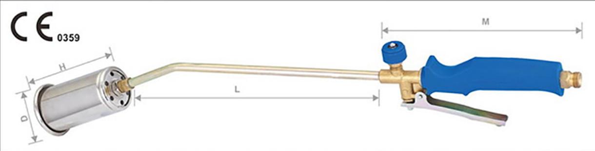 Горелка пропан М5020   с клапаном код K76