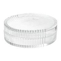 SAMMANHANG, стеклянная емкость для хранения, 6 см