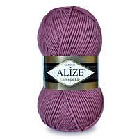 Пряжа нитки для вязания полушерсть Alize Lanagold