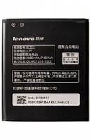 Батарея (акб, аккумулятор) BL210 для Lenovo S820, 2000 mAh, оригинал