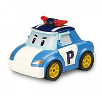 Полицейская машина Поли металлическая 6 см