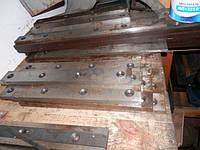 Ножи для гильотины новые разных размеров:  500х60х25 - 6 шт. 3 отв.   625х60х25 - 3 шт. 4 отв.  8
