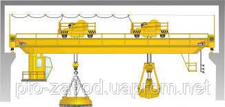 Кран мостовой магнитно-грейферный г/п 3,2- 20,0т.
