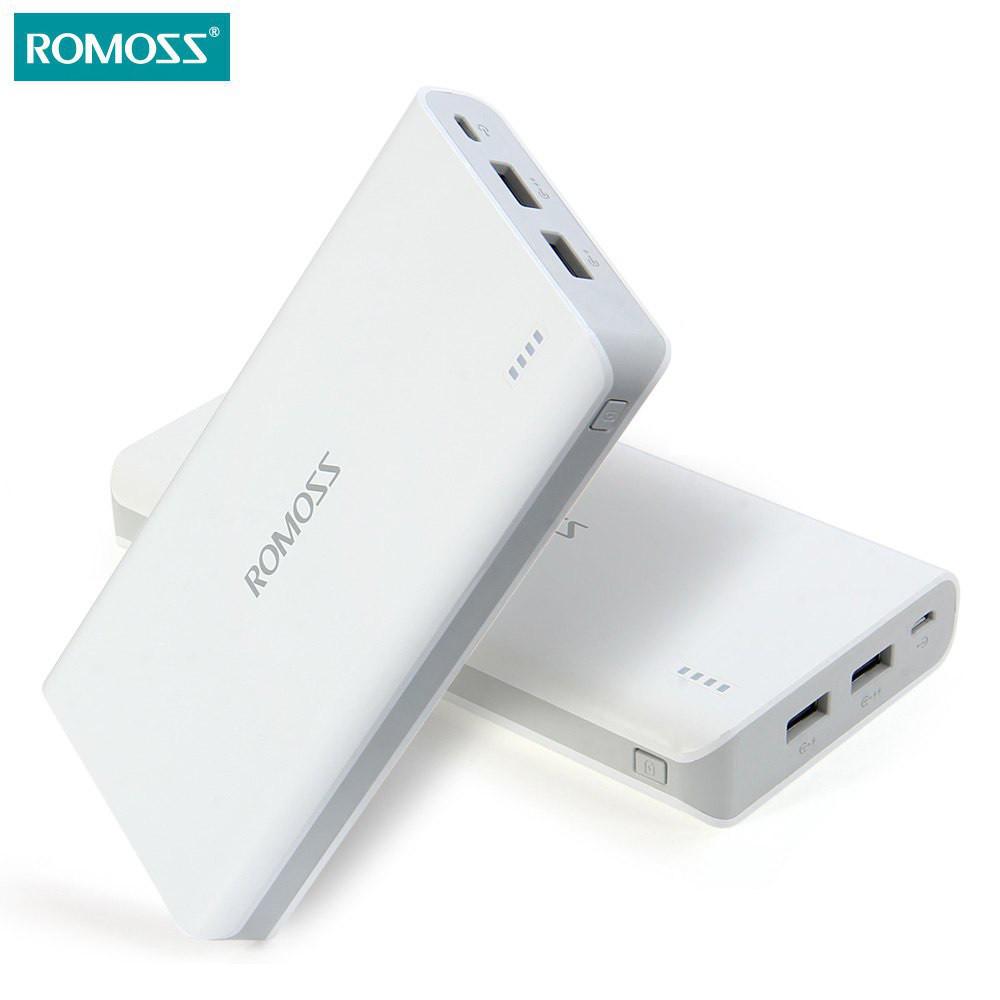 Мобільна зарядка POWER BANK 20000 Romoss