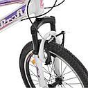 """Детский спортивный велосипед PROFI CARE 20"""" алюминиевая рама 12"""" белый, фото 3"""