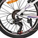 """Детский спортивный велосипед PROFI CARE 20"""" алюминиевая рама 12"""" белый, фото 4"""