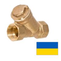 Фильтр муфтовый латунный (Украина) Ду15