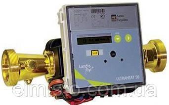 Лічильник тепла Landis+Gyr ULTRAHEAT T550/UH50 Ду25 Qn 6,0 муфтовый одноканальный ультразвуковой