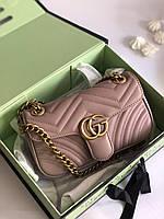 Трендовая женская сумочка Гуччи (реплика), фото 1