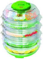 Электросушилка для фруктов,овощей,Сушка для продуктов Saturn ST-FP0113-6 Green