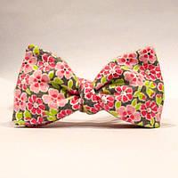 Галстук-бабочка KRAGO Flower Mania Розовый (KRG-00522)