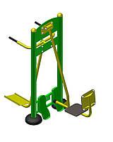 Вуличний тренажер «Жим ногами + маятник»