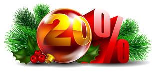 Скидки до - 20% на все автотовары до 31 декабря!
