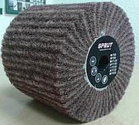 Круг Спрут-А лепестковый шлифовальный P240 КШЛ КЛ щетка из нетканного материала барабан Sprut