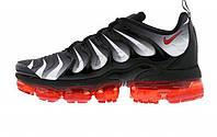 "Мужские кроссовки Nike Air VaporMax Plus ""Red Shark Tooth"" Black/Gray/Red"