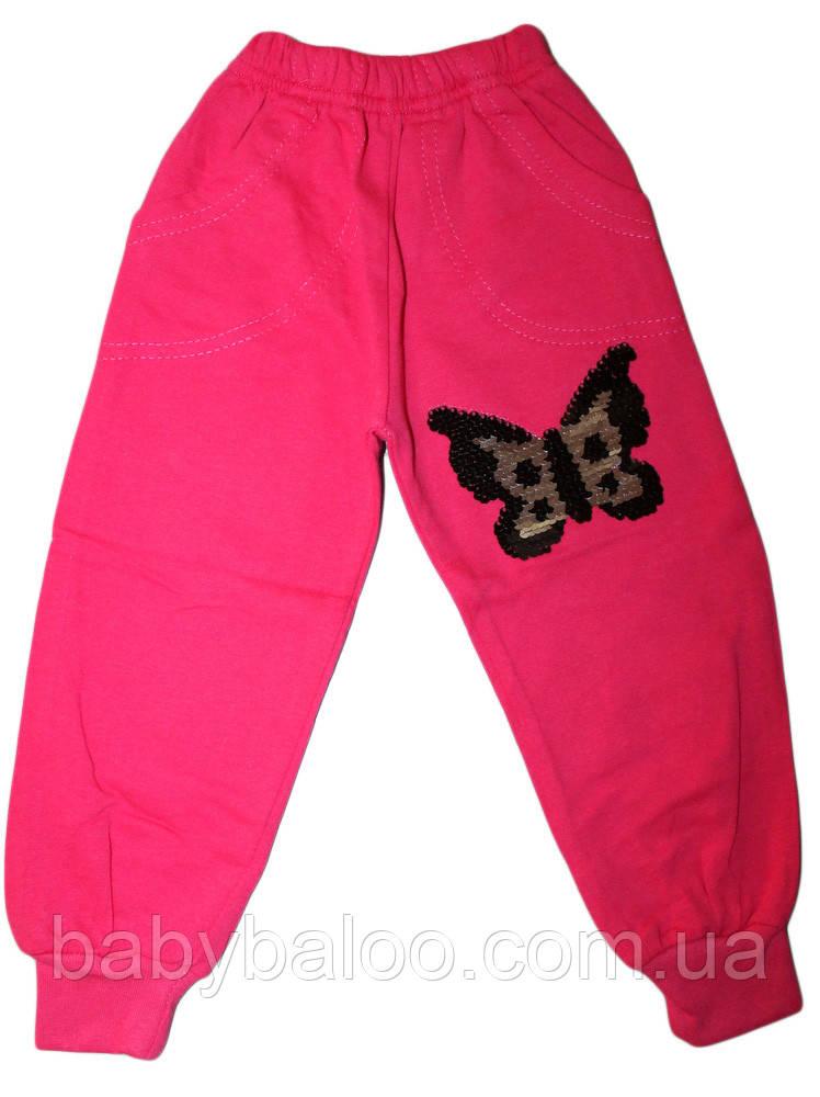 Штаны для девочки пайетки перевёртыши (от 5 до 8 лет)