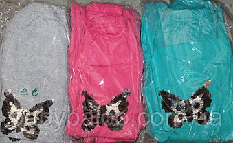Штаны для девочки пайетки перевёртыши (от 5 до 8 лет) , фото 3