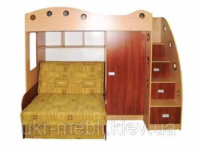 Дитяче ліжко горище з диваном Каспер-2, Даниро