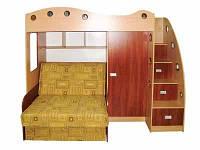 Детская кровать чердак с диваном Каспер-2, Даниро