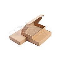 Картонные коробки самосборные 215х145х40 бурые