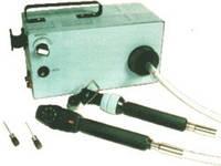 Офтальмоскоп ручной универсальный со щелевой лампой и волоконными световодами ОВСр-01