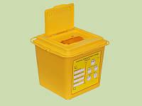 Емкость для сбора колюще-режущих медицинских отходов одноразовая ЕСО-02 ЕЛАТ-03