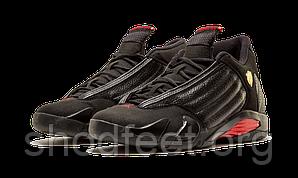 """Мужские баскетбольные кроссовки Air Jordan 14 Retro """"Last Shot"""" Black"""