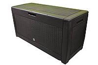 Ящик для внешнего хранения Boxe Rato 310 л, коричневый, фото 1