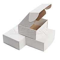 Картонная коробка 270х220х110 белая, фото 1