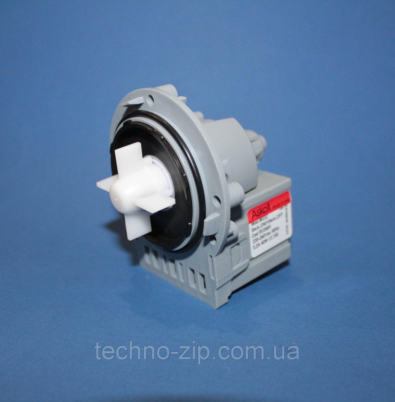 Насос Askoll M332 для стиральной машины универсальный