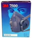 Защитная полумаска 3M 7500. Средство защиты органов дыхания, респиратор 7501, 7502, 7503, фото 2