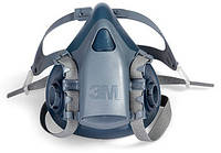 Защитная полумаска 3M 7500. Средство защиты органов дыхания, респиратор 7501, 7502, 7503, фото 1